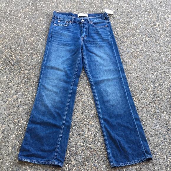 Abercrombie & Fitch Denim - Abercrombie & Fitch Boyfriend Wide Leg Sz 0